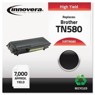 Remanufactured Tn580 High-Yield Toner, Black