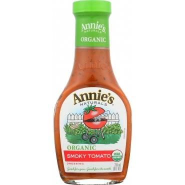 Annie's Naturals Organic Dressing Smoky Tomato - Case of 6 - 8 fl oz.