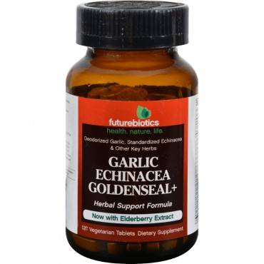FutureBiotics Garlic Echinacea Goldenseal Plus - 120 Tablets