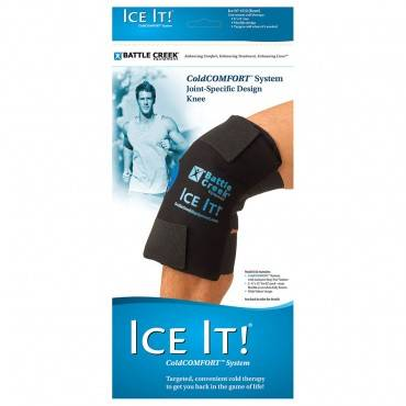 """The Ice It  ColdCOMFORT Knee System, 12"""" x 13"""" Part No. 512 Qty 1"""
