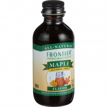 Frontier Herb Maple Flavor - 2 oz