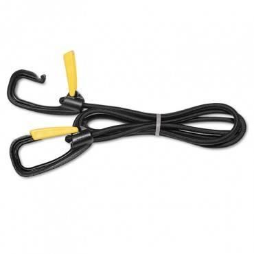 Bungee Cord W/locking Clasp, Black, 72 Inch