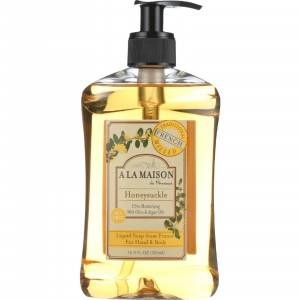 A la maison french liquid soap honeysuckle 16 9 oz for A la maison french