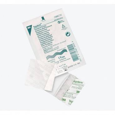 """Tegaderm Transparent Film Dressing First Aid Style 2-3/8"""" x 2-3/4"""" Part No. 1620 Qty 1"""