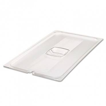 Cold Food Pan Covers, 20 4/5w X 12 4/5d, Clear