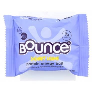 Bounce Energy Balls - Coconut Lemon - Case of 12 - 1.48 oz.