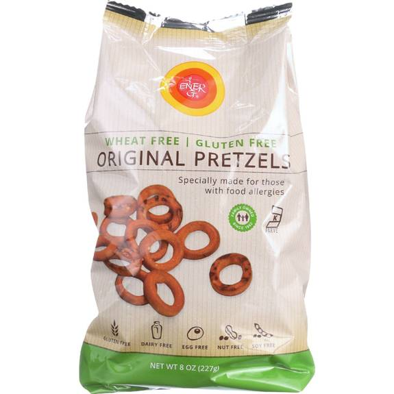 Ener-g pretzels