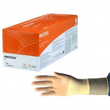 Protexis Polyisoprene Surgical Glove, Powder-Free, Size 7.5 Part No. 2D72PT75X Qty  Per Box