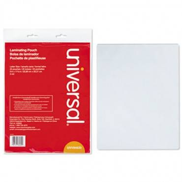 Clear Laminating Pouches, 3 Mil, 9 X 11 1/2, 25/pack