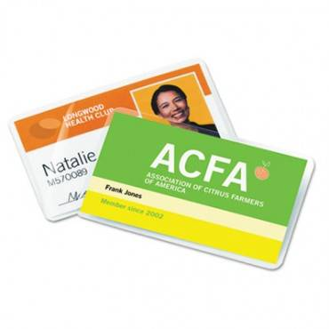 Ultraclear Thermal Laminating Pouches, 7mil, 2 3/16 X 3 11/16, Business Card,100