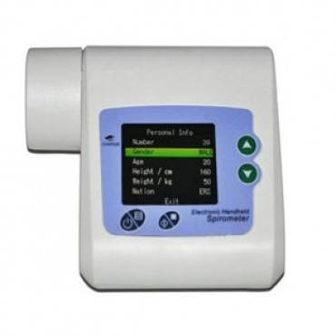 Spirometer Digital With USB Connectivity SP-10 Part No. 2170066 Qty 1
