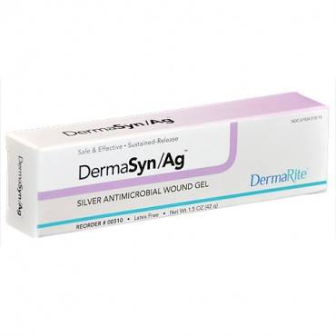 DERMARITE INDUSTRIES DermaSyn/Ag Antimicrobial Wound Gel Model: 00510