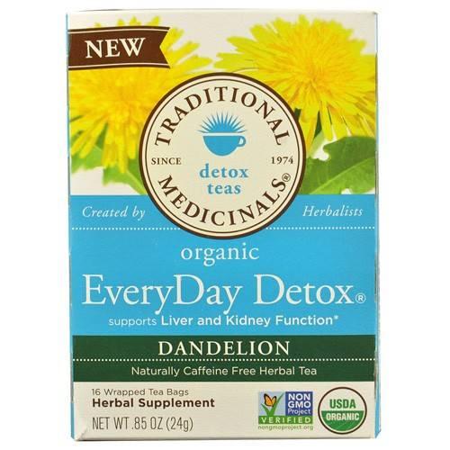 Traditional medicinals detox tea review tumblr