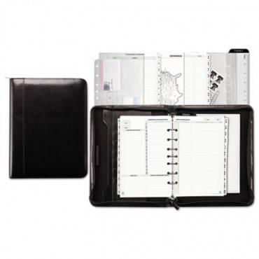 Aristo Bonded Leather Starter Set, 5 1/2 X 8 1/2, Black
