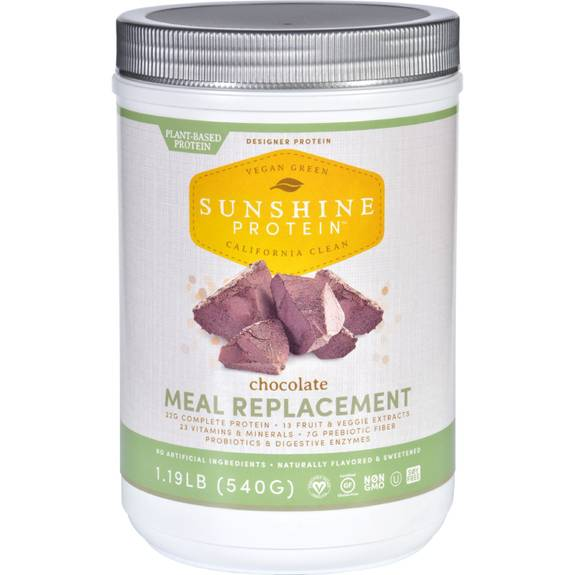 Sunshine Protein Meal Replacement Plant Based