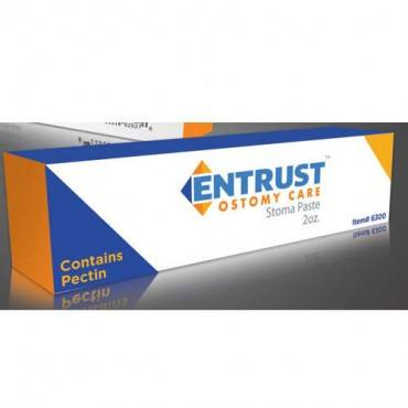 Entrust Ostomy Pectin-Based Paste 2 oz. Tube Part No. 6300 Qty 1