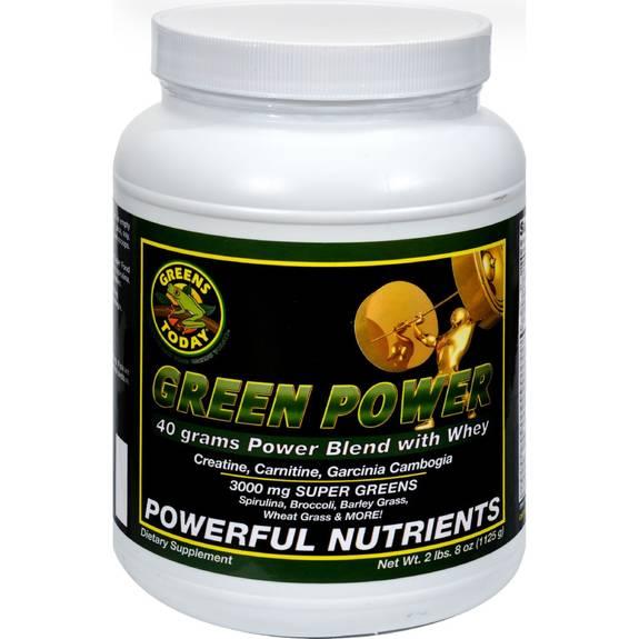 Greens Today Powerhouse Formula Cellular Energy