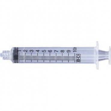 Luer-Lok Tip Syringe 10 mL Part No. 309604 Qty 1
