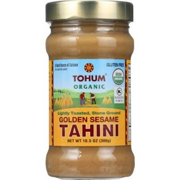 Tohum Natural Foods Tahini - Toasted - Golden - 10.5 oz