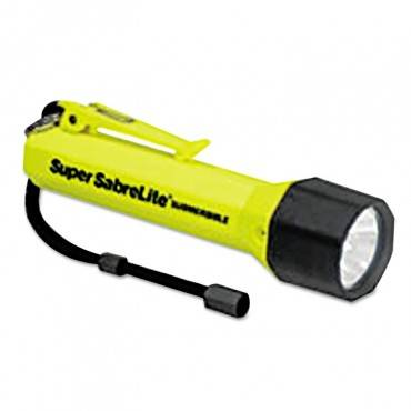 Sabrelite 2000 Flashlight, 3 C, Yellow