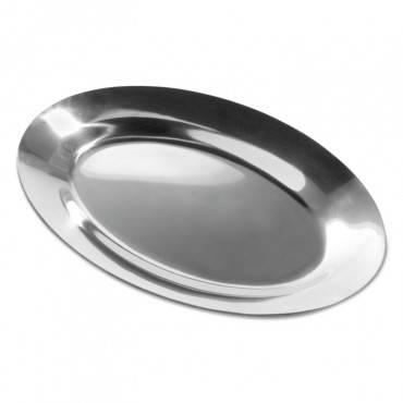 Steak Platter, Cast Aluminum, 11 1/2 Inch X 8 Inch