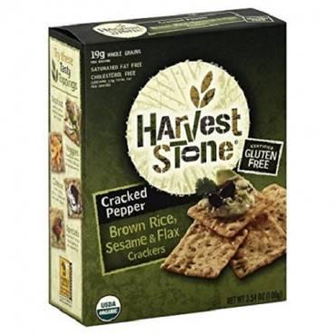 Harvest Stone Harvest Stone Organic Brown Rice and Sesame - Brown Rice and Sesame - Case of 6 - 3.54
