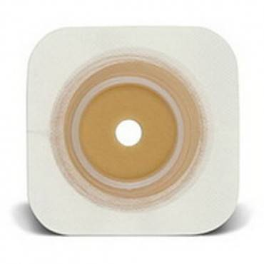 "Sur-Fit Natura Durahesive Cut-to-Fit Skin Barrier 4-1/2"" x 4-1/2"", 1-1/2"" Flange Part No. 413160 Qty  Per Box"
