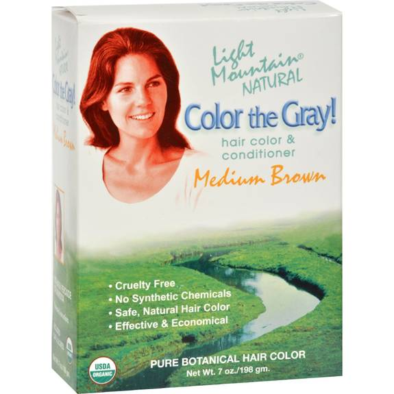 Light Mountain Natural Hair Color Medium Brown