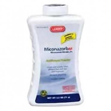 Leader 2% Miconazorb AF Miconazole Nitrate Powder, 2.5 oz. Part No. 4360087 Qty 1