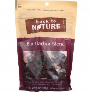 Back To Nature Nuts - Bar Harbor Blend - 10 oz - case of 9