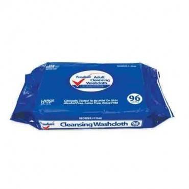 PRIMAGUARD PrimaGuard Adult Cleansing Pre-Moist Washcloths Model: FCW-096