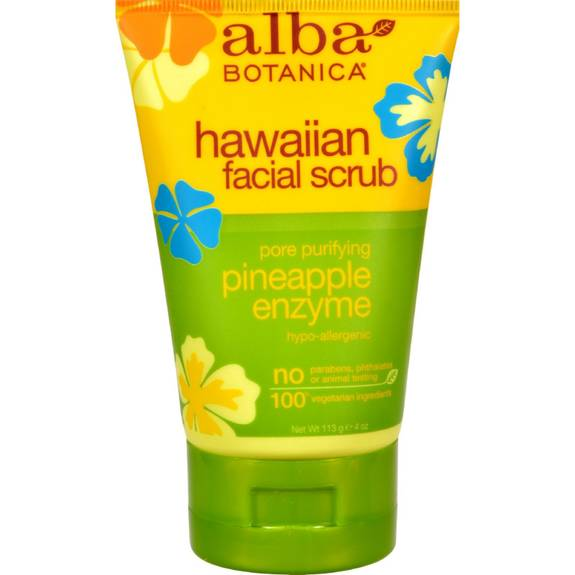 alba hawaiian facial