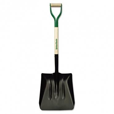Steel Coal Shovel, D-Handle, #2, 27in Handle