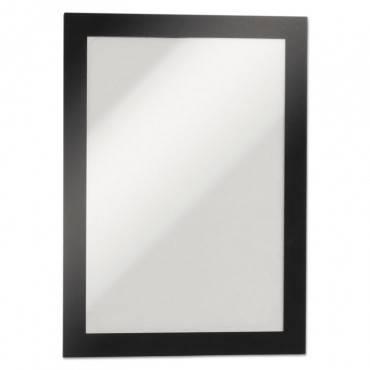 Duraframe Sign Holder, 5 1/2 X 8 1/2, Black Frame, 2/pack