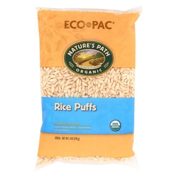 Nature's Path Organic Rice Puffs Cereal