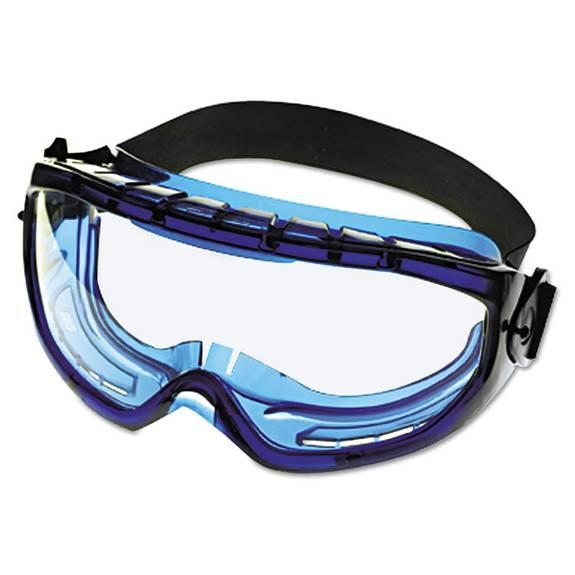 V80 Monogoggle Xtr, Blue Frame, Clear Lens