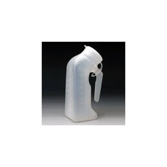 MEDICAL ACTION Male Urinal with Lid  Model: H140-01