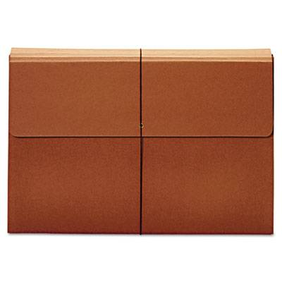 Expanding Wallet, 3 1/2 Inch Expansion, 12 X 18, Brown