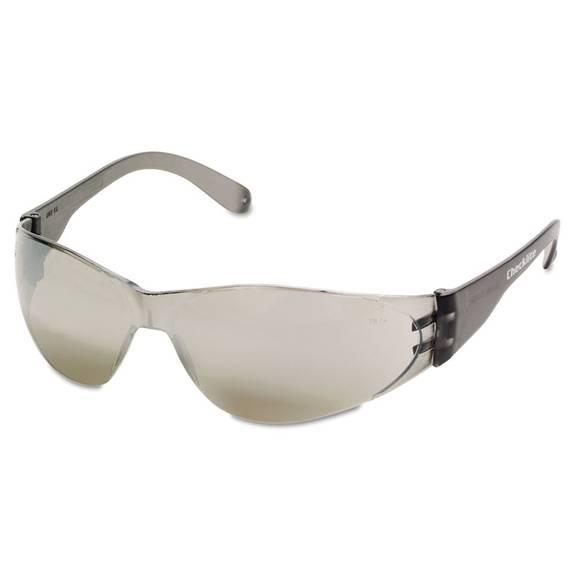 Checklite Safety Glasses, Silver Mirror Lens