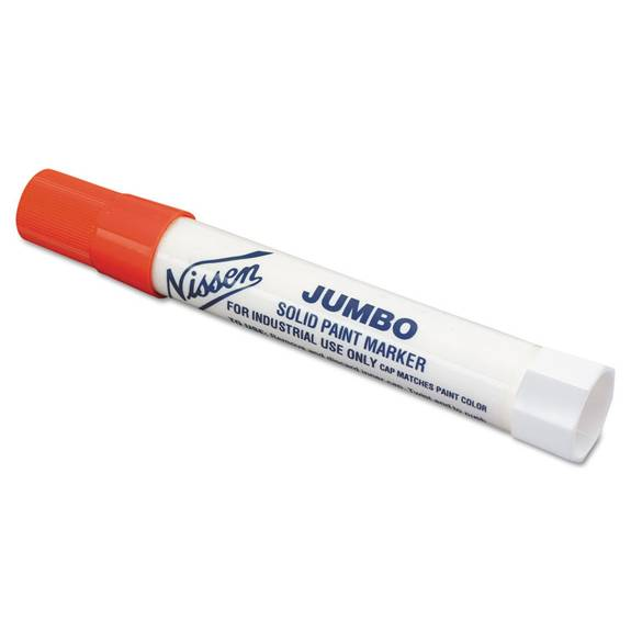 Solid Paint Marker, Red, Jumbo