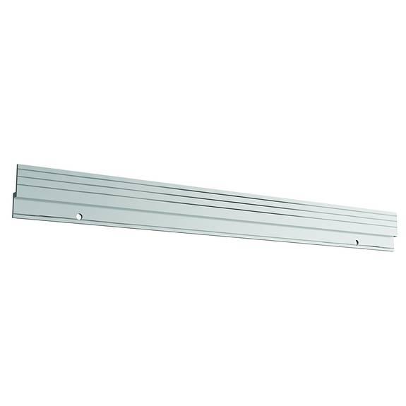 Stackable Caddy Organizer Wall-mount Bar, 22 X 0.37, Silver