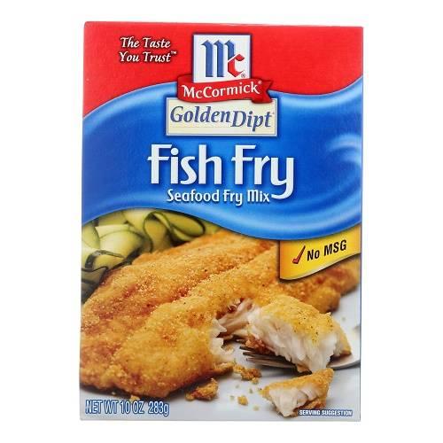 Golden Dipt Breading - Fish Fry - Case of 8 - 10 oz
