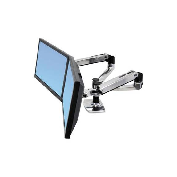Lx Dual Side-By-Side Arm For Workfit-D Sit-Stand Desk