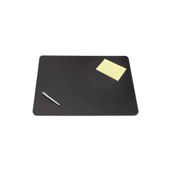 Sagamore Desk Pad W/decorative Stitching, 38 X 24, Black