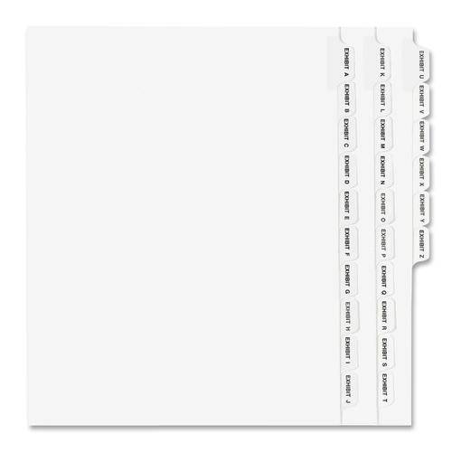 Avery® Standard Collated Legal Exhibit Divider Sets - Avery Style (ST/SET)