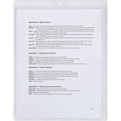 Business Source Shop Seal Ticket Holder (BX/BOX)