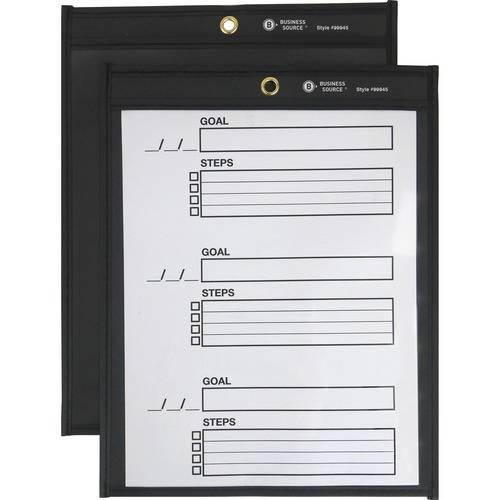 Business Source Black Backing Shop Ticket Holder (BX/BOX)