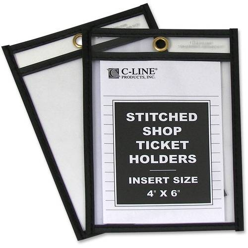 C-Line Stitched Plastic Shop Ticket Holder (BX/BOX)