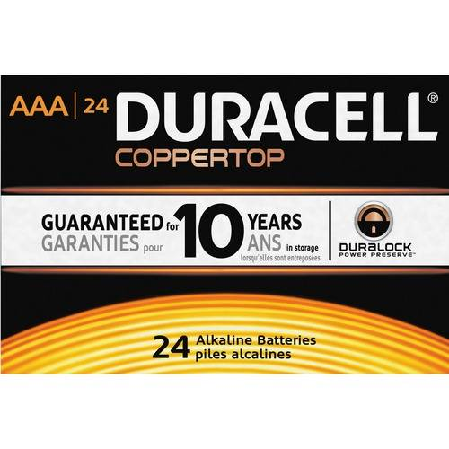 Duracell Coppertop MN2400BKD General Purpose Battery (CA/CASE)