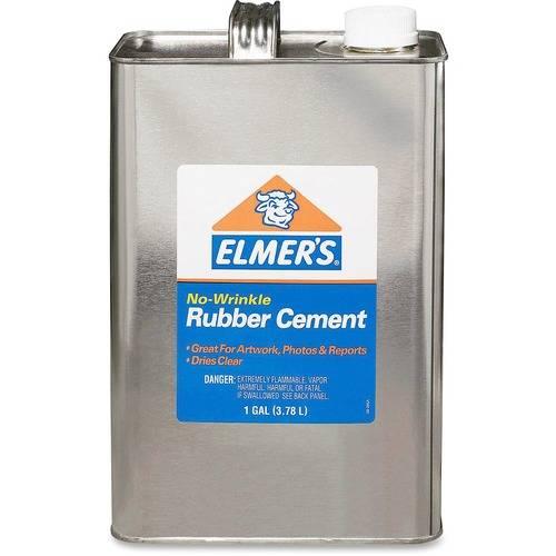 Elmer's No-Wrinkle Acid-Free Rubber Cement (EA/EACH)